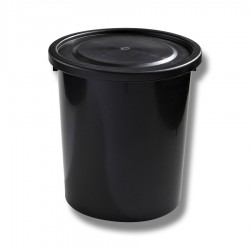 Tunna 75 liter med lock