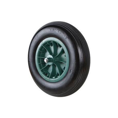 Punkteringsfritt hjul inkl. axel, Hög profil