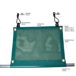 Spännare elastisk för vindnät