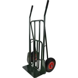 Säckkärra med punkteringsfria hjul lastplan